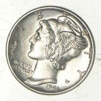 CH UNC 1943 MERCURY LIBERTY DIME   90  SILVER   FROM AN ORIG