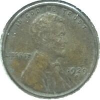1929-D UNITED STATES LINCOLN WHEAT CENT 1C PENNY