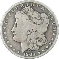 1903 $1 MORGAN DOLLAR 90 SILVER US COIN VG  GOOD
