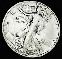 1928-S LIBERTY WALKING HALF DOLLAR.      HIGH GRADE   INV-A