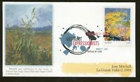 2010 BUFFALO NEW YORK   ABSTRACT EXPRESSIONISTS   JOAN MITCHELL   FLEETWOOD FDC