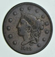 1835 YOUNG HEAD LARGE CENT 7197