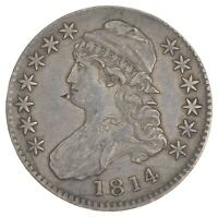 1814/3 CAPPED BUST HALF DOLLAR 7548