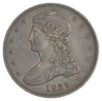 1839 CAPPED BUST HALF DOLLAR 7378