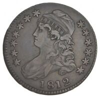 1812 CAPPED BUST HALF DOLLAR 7405