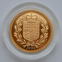 2002 SOVEREIGN GOLD PROOF