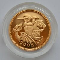 2005 SOVEREIGN GOLD PROOF
