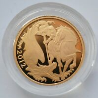 2012 FULL SOVEREIGN GOLD PROOF