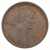 BETTER 1914 D   US LINCOLN WHEAT CENT PENNY COIN COLLECTION