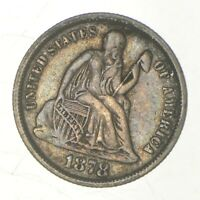 1878 SEATED LIBERTY DIME   GREENBERG COIN COLLECTION  793