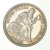 1891 S SEATED LIBERTY DIME   GREENBERG COIN COLLECTION  761