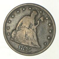 1875 CC SEATED LIBERTY QUARTER   GREENBERG COIN COLLECTION