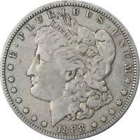 1888 O VAM 4 HOT LIPS $1 MORGAN SILVER DOLLAR COIN F FINE DETAILS
