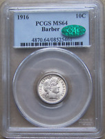 1916 BARBER DIME FRESH FROM THE MINT LOOK DRIPPING LUSTER PC