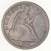 1872 SEATED LIBERTY SILVER DOLLAR 2701