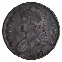 1829 CAPPED BUST HALF DOLLAR - CIRCULATED 9033