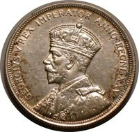 1935 SILVER DOLLAR OF CANADA FULL MINT LUSTER