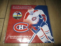 2009 2010 NHL MONTREAL CANADIENS 50 CENTS COLORIZED ON ICE COIN IN OGP.