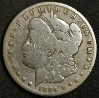 1894-S MORGAN SILVER DOLLAR.  BETTER GRADE.  146678