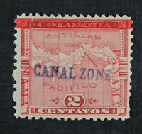 CKSTAMPS: US STAMPS COLLECTION CANAL ZONE SCOTT1 MINT H OG S