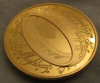 LORD OF THE RINGS GOLD COIN MAGIC STORY LEGEND WORLD FAMOUS