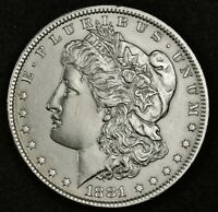 1881 MORGAN SILVER DOLLAR.   B.U.  INVENTORY H.    139804