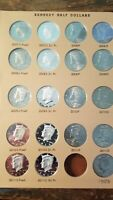 COMPLETE KENNEDY HALF DOLLAR SET ALL U.C PROOFS AND SILVER P