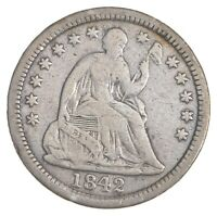1842-O SEATED LIBERTY HALF DIME 5664