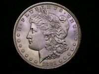 MORGAN SILVER DOLLAR - 1881 P - UNC