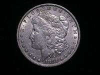 MORGAN SILVER DOLLAR - 1881 P