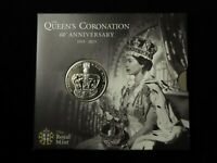 ROYAL MINT: THE QUEEN'S CORONATION 60TH ANNIVERSARY CROWN 20