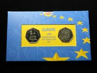 ROYAL MINT: EUROPE 1998 COMMEMORATIVE FIFTY PENCE COIN SET