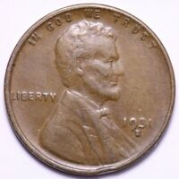 1931-S LINCOLN WHEAT SMALL CENT PENNY CHOICE EXTRA FINE  SHIPS FREE E564 RFM