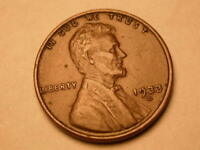 1933 D   CHOICE  FINE/EXTRA FINE  BROWN LINCOLN CENT  KEY DATE   4