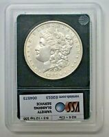 1897 MORGAN SILVER DOLLAR AU VAM 6A  PITTED TAIL VARIETY TOP 100