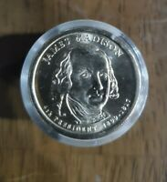 JAMES MADISON PRESIDENTIAL 2007 DOLLAR COINS ROLL OF 12 SEALED /UNCIRCULATED
