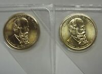 2011-P AND 2011-D GEM BU RUTHERFORD HAYES DOLLARS IN ORIGINAL MINT CELLO PACKS
