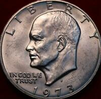 UNCIRCULATED 1973 S SAN FRANCISCO MINT SILVER EISENHOWER DOL