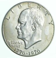 SPECIALLY MINTED S MINT MARK 1976 S 40  EISENHOWER SILVER DO
