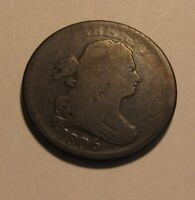 1806 DRAPED BUST HALF CENT PENNY   CIRCULATED CONDITION   40