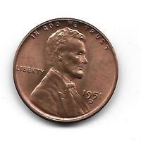 1951 D LINCOLN CENT IN UNCIRCULATED CONDITION, AND IS RD