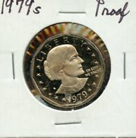 PROOF 1979 S UNITED STATES SUSAN B. ANTHONY DOLLAR $1 COIN B