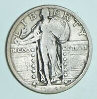 1919 D STANDING LIBERTY QUARTER   CHARLES COIN COLLECTION  1