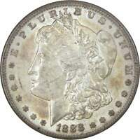 1888 S $1 MORGAN SILVER DOLLAR US COIN AU ABOUT UNCIRCULATED