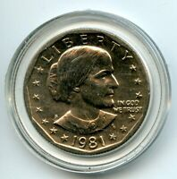 1981 S UNITED STATES SUSAN B. ANTHONY DOLLAR $1 COIN EH201