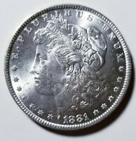 1881 MORGAN SILVER DOLLAR GRADING GEM BU PRICED RIGHT SHIPPED FREE  E25
