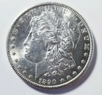 1890 S MORGAN SILVER DOLLAR GRADING CH BU PRICED RIGHT SHIPPED FREE  E78