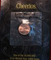 UNCIRCULATED 2000 CHEERIOS LINCOLN CENT