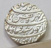 AFGHANISTAN SILVER RUPEE 1781 CHOICE UNCIRCULATED