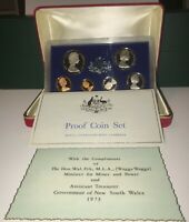 1973 ROYAL AUSTRALIAN MINT PROOF SET GIVEN TO MY DAD FROM HO